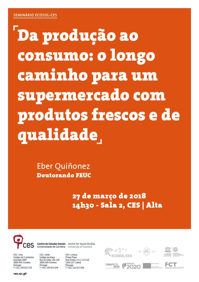 """From production to consumption: the long road to a supermarket with fresh produce and quality<span id=""""edit_18518""""><script>$(function() { $('#edit_18518').load( """"/myces/user/editobj.php?tipo=evento&id=18518"""" ); });</script></span>"""