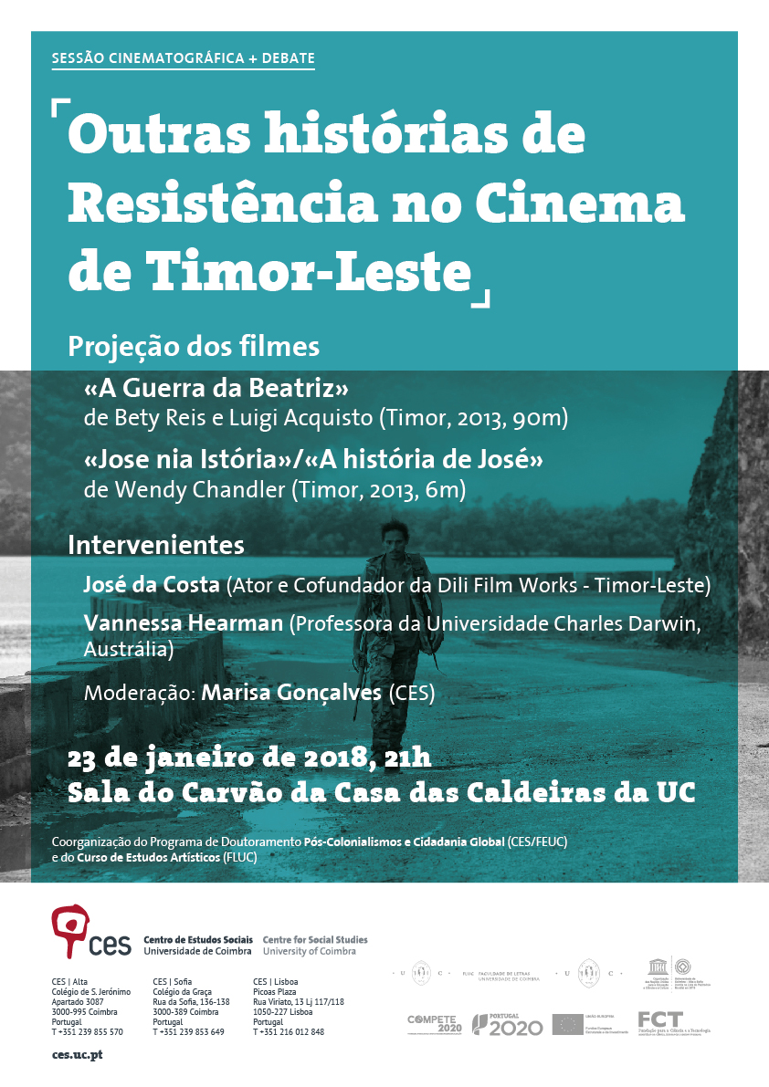 """Other Stories of the Resistance in the Cinema of Timor-Leste<span id=""""edit_18836""""><script>$(function() { $('#edit_18836').load( """"/myces/user/editobj.php?tipo=evento&id=18836"""" ); });</script></span>"""