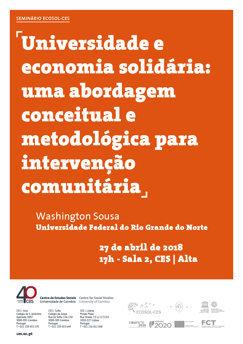 """University and solidarity economy: a conceptual and methodological approach to community intervention<span id=""""edit_19317""""><script>$(function() { $('#edit_19317').load( """"/myces/user/editobj.php?tipo=evento&id=19317"""" ); });</script></span>"""