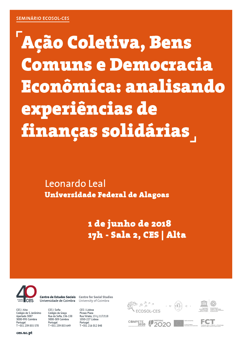 """Collective Action, Common Goods and Economic Democracy: analysing solidarity finance experiences<span id=""""edit_19843""""><script>$(function() { $('#edit_19843').load( """"/myces/user/editobj.php?tipo=evento&id=19843"""" ); });</script></span>"""
