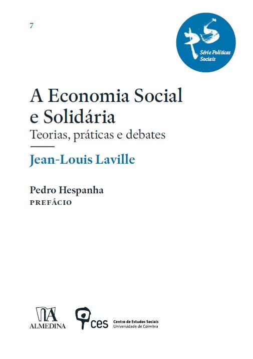 «A Economia Social e Solidária» de Jean-Louis Laville