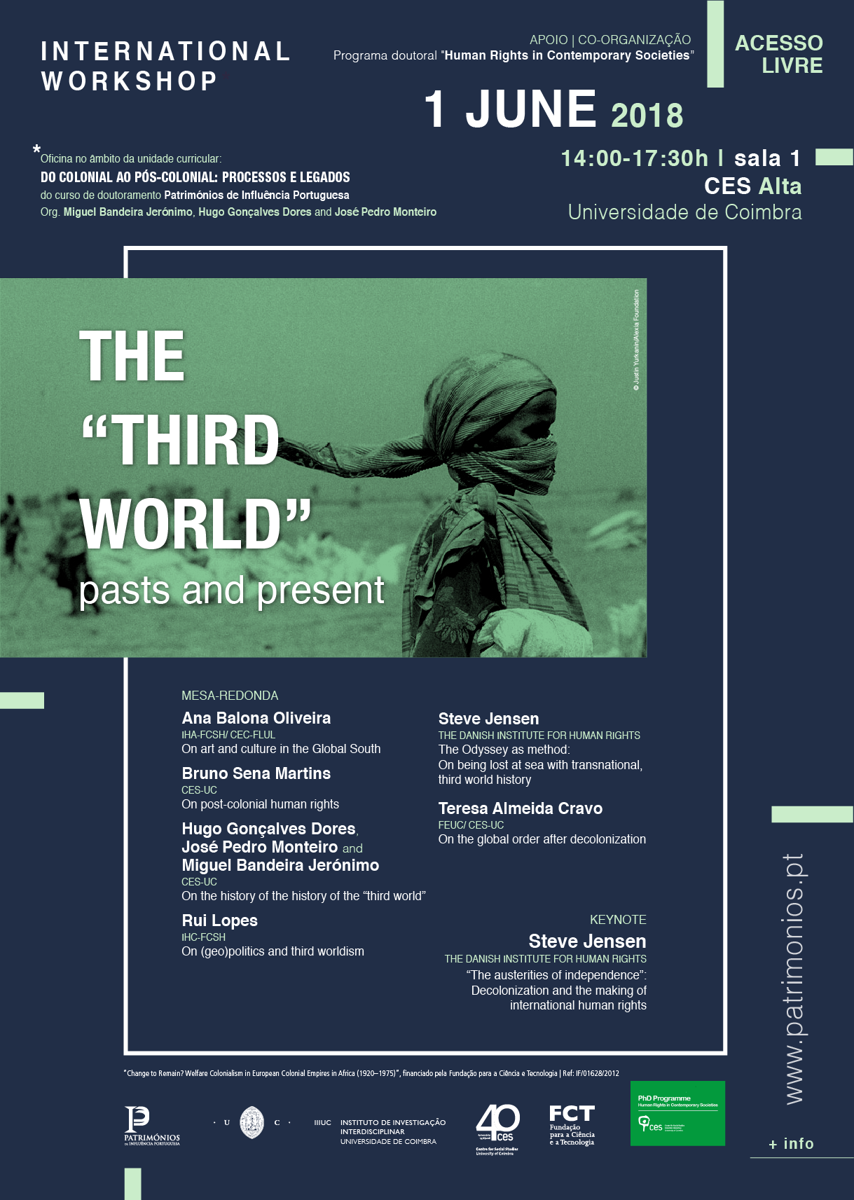 """The «Third World»: Pasts and present<span id=""""edit_19986""""><script>$(function() { $('#edit_19986').load( """"/myces/user/editobj.php?tipo=evento&id=19986"""" ); });</script></span>"""
