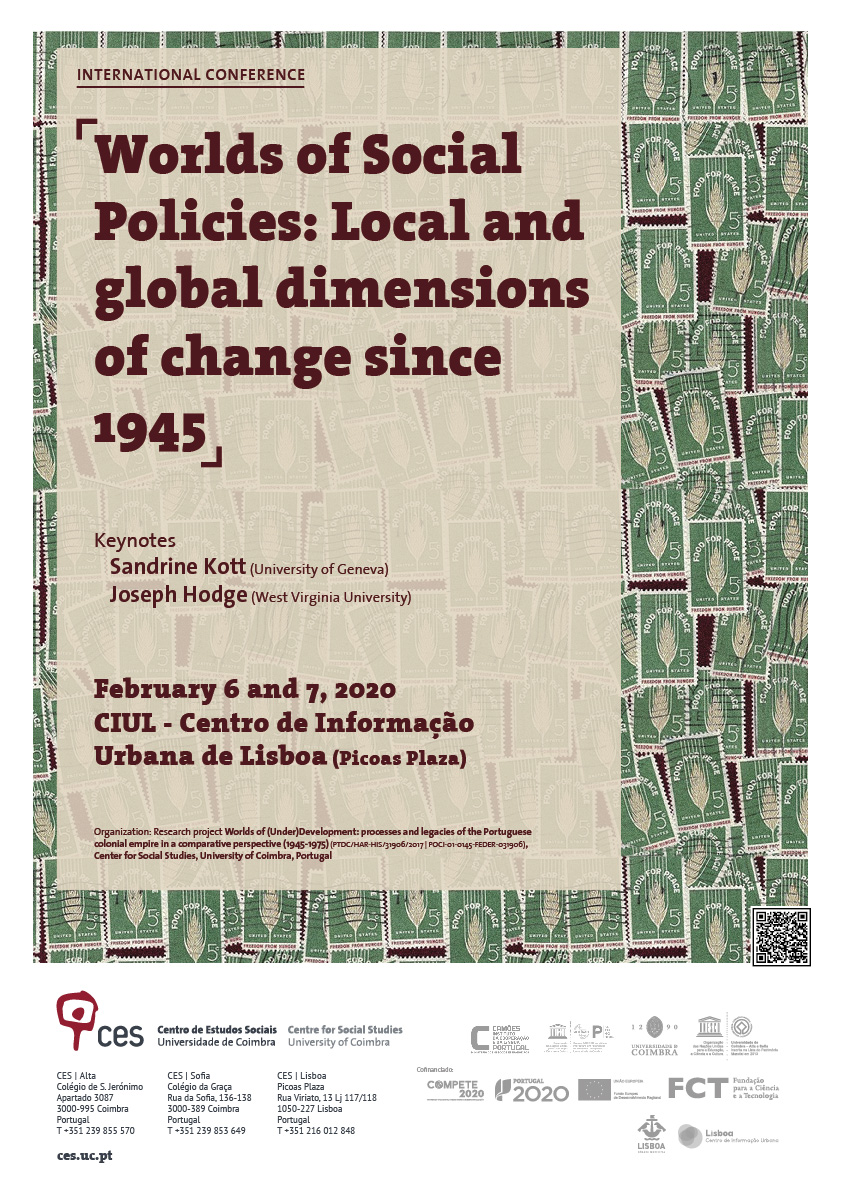 "Worlds of Social Policies: Local and global dimensions of change since 1945<span id=""edit_26936""><script>$(function() { $('#edit_26936').load( ""/myces/user/editobj.php?tipo=evento&id=26936"" ); });</script></span>"