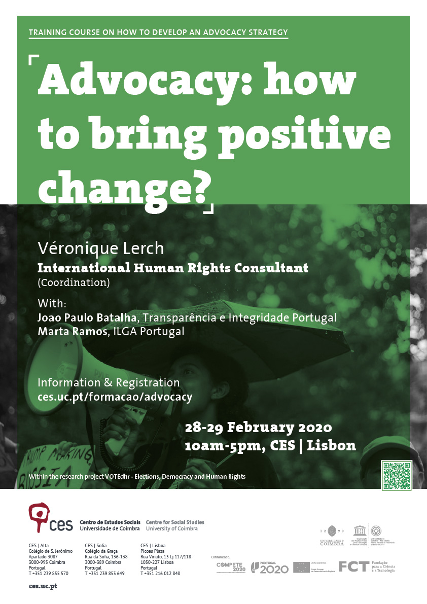 Advocacy: how to bring positive change?<br />