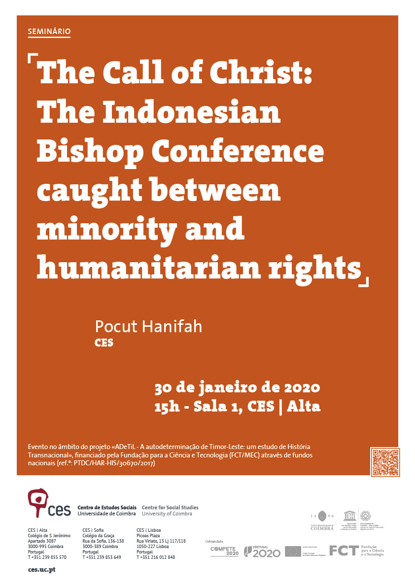 "The Call of Christ: The Indonesian Bishop Conference caught between minority and humanitarian rights<span id=""edit_27807""><script>$(function() { $('#edit_27807').load( ""/myces/user/editobj.php?tipo=evento&id=27807"" ); });</script></span>"