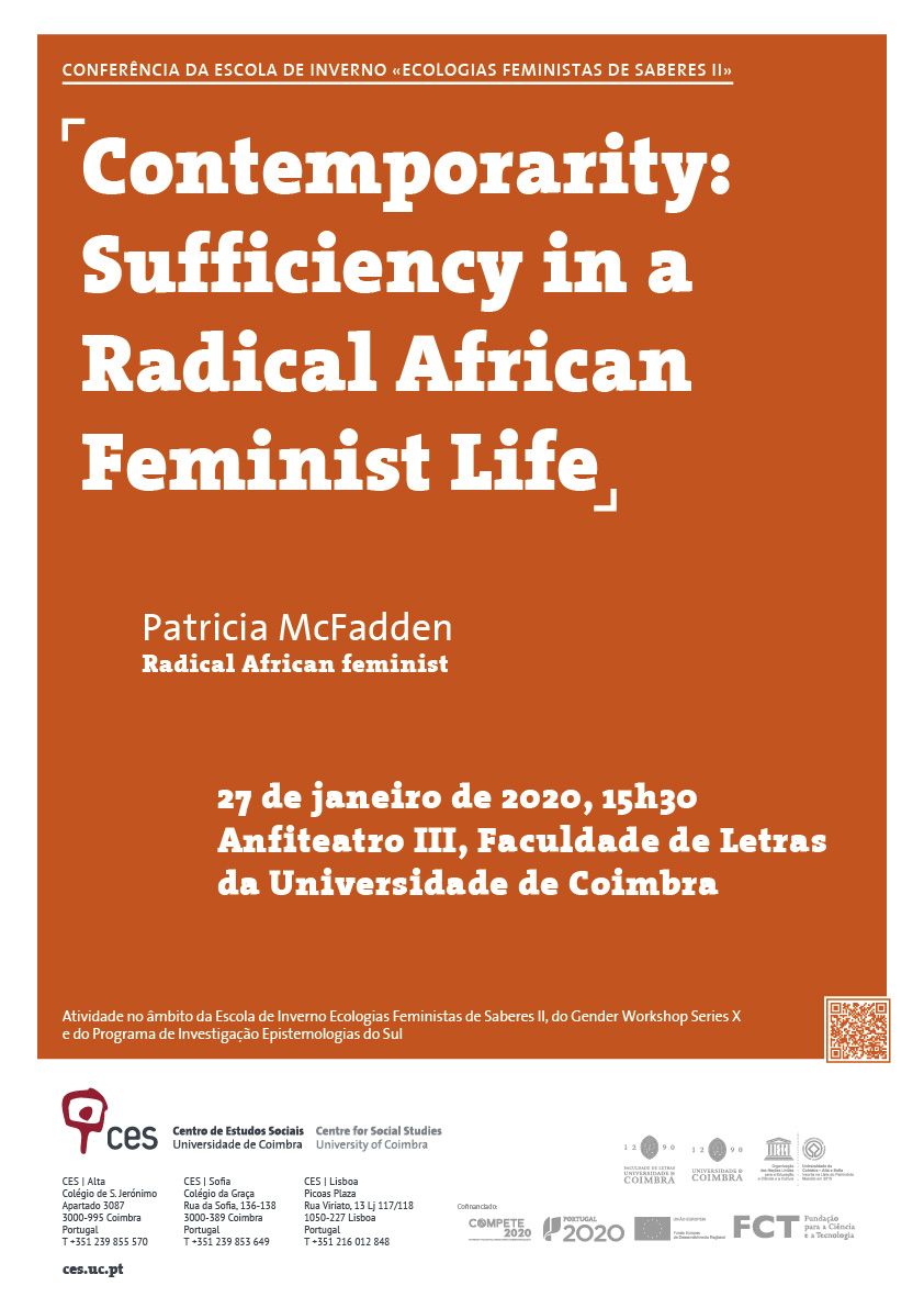 "Contemporarity: Sufficiency in a Radical African Feminist Life<span id=""edit_27865""><script>$(function() { $('#edit_27865').load( ""/myces/user/editobj.php?tipo=evento&id=27865"" ); });</script></span>"