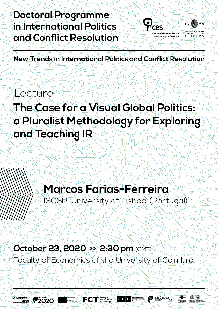 "The Case for a Visual Global Politics: a Pluralist Methodology for Exploring and Teaching IR<span id=""edit_31442""><script>$(function() { $('#edit_31442').load( ""/myces/user/editobj.php?tipo=evento&id=31442"" ); });</script></span>"