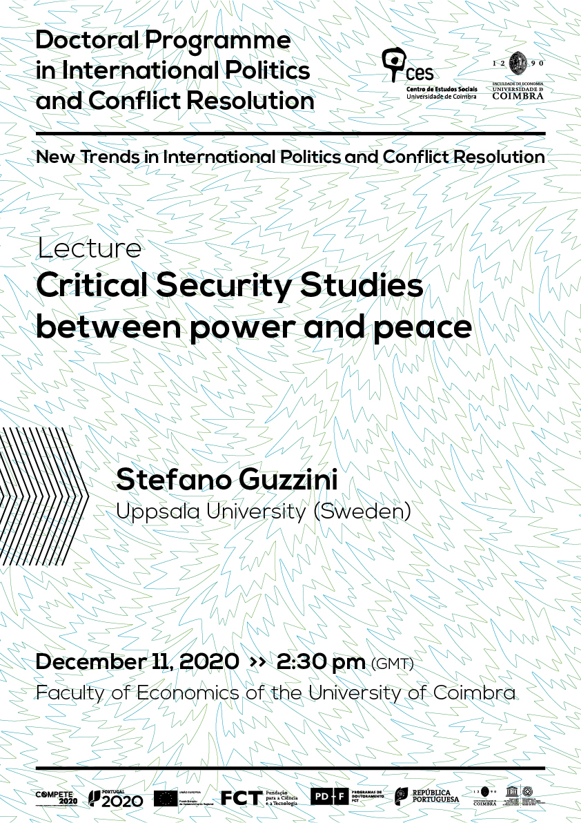 "Critical Security Studies between power and peace<span id=""edit_31450""><script>$(function() { $('#edit_31450').load( ""/myces/user/editobj.php?tipo=evento&id=31450"" ); });</script></span>"