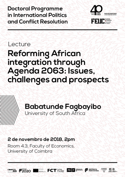 "Reforming African integration through Agenda 2063: Issues, challenges and prospects<span id=""edit_20781""><script>$(function() { $('#edit_20781').load( ""/myces/user/editobj.php?tipo=evento&id=20781"" ); });</script></span>"