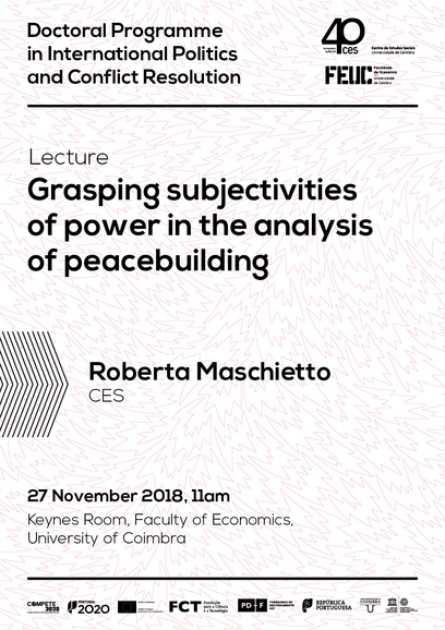 "Grasping subjectivities of power in the analysis of peacebuilding<span id=""edit_20790""><script>$(function() { $('#edit_20790').load( ""/myces/user/editobj.php?tipo=evento&id=20790"" ); });</script></span>"